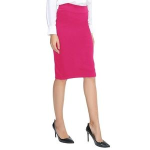 NY&Co | Straight Fit Skirt - Hot Pink